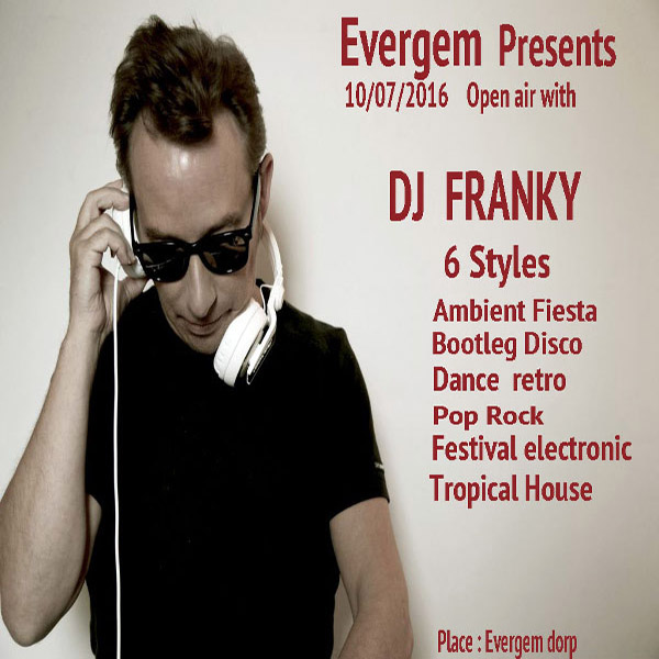 DJ Franky OpenAir  Evergem
