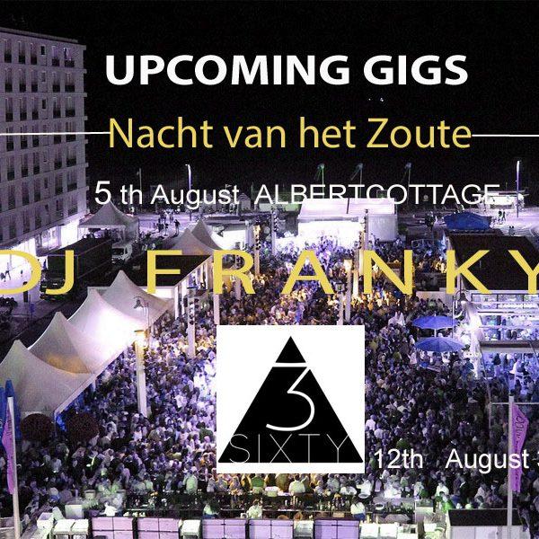 Dj Franky Knokke Nacht van het Zoute